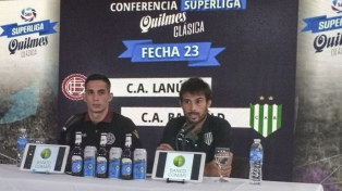 """Marcone y Cvitanich: """"Es una pena que el clásico se juegue sin hinchas de los dos equipos"""""""
