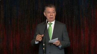 """Para Santos, sería una """"insensatez"""" cambiar acuerdos de paz sin consultar a la FARC"""