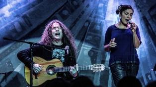 """Baraj y Barrientos muestran su disco sobre Violeta Parra y el """"Cuchi"""" Leguizamón"""