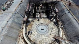 Avanzan  las obras del reactor Carem 25 en el complejo nuclear de Atucha
