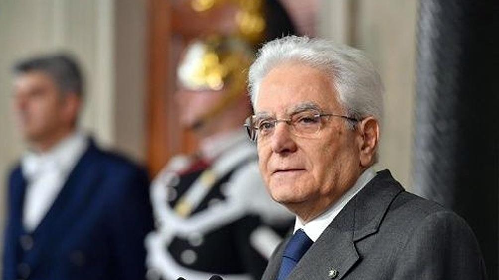 El presidente Mattarella toma las riendas de la crisis política