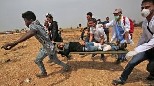 """Israel bombardea cinco """"objetivos terroristas"""" de Hamas, en Gaza"""