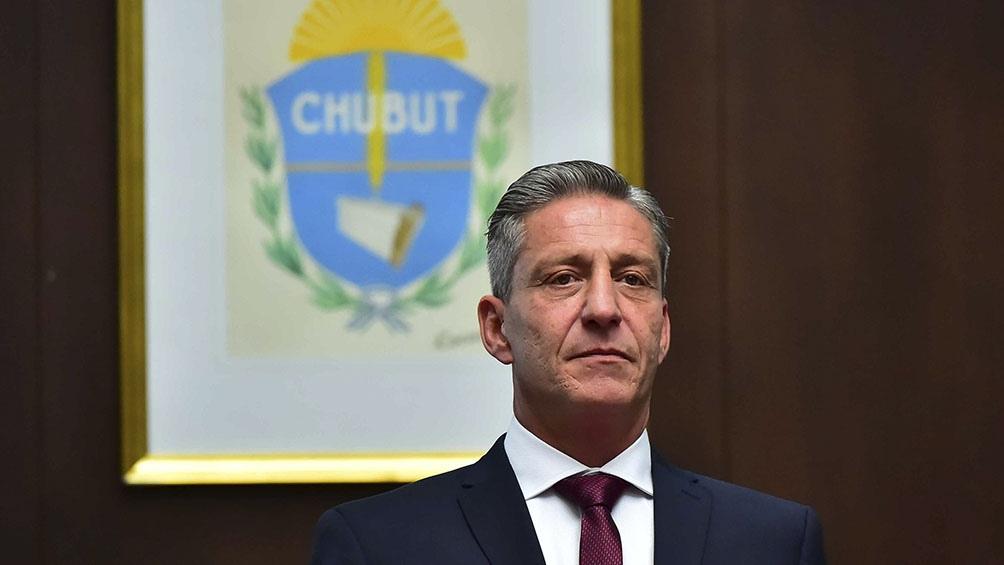 Gobernador de Chubut, Mariano Arcioni.