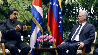 """Maduro llama a """"reformatear"""" la relación """"indestructible"""" con La Habana"""