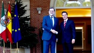 Rajoy ratificó a Peña Nieto el papel de España como socio leal