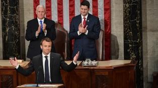 Macron fustigó el aislacionismo en su discurso en el Congreso