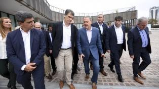 Schiaretti recibió a los legisladores del Peronismo Federal en el inicio de su encuentro