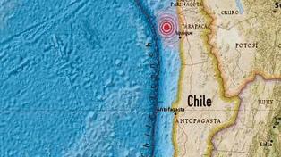 Temblor de 4,6 grados sacude la región de Tarapacá