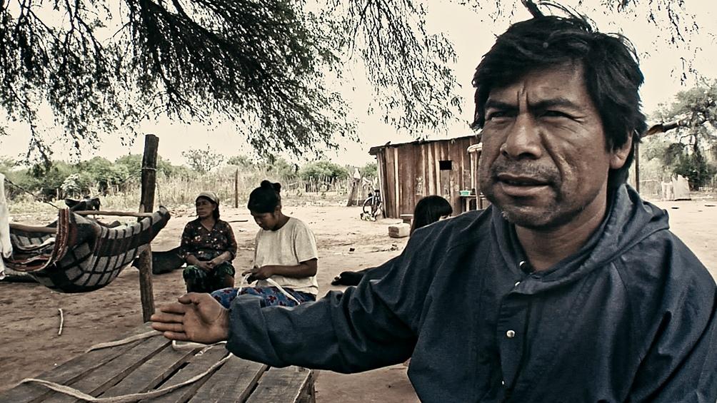 Uno de sus últimos registros, la crítica al extractivisto agroindustrial.