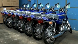 Subió 10,3% el patentamiento de motos