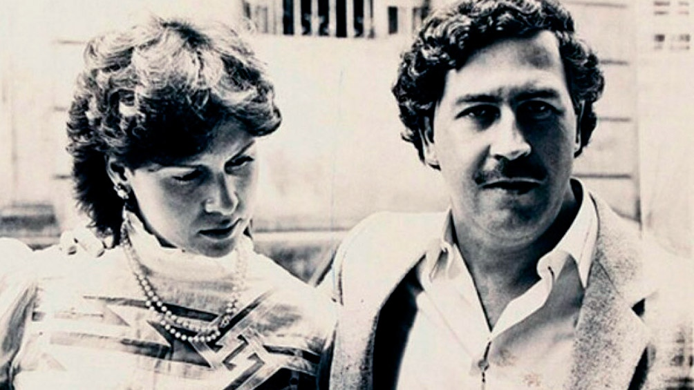 María Isabel Santos Caballero, la esposa de Escobar Gaviria, radicada en la Argentina.