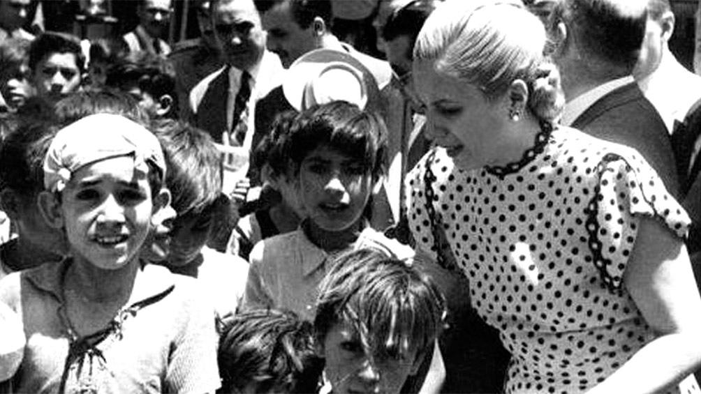 Presidió la Fundación Eva Perón