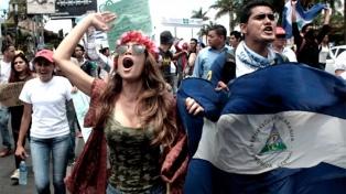 Universidades tomadas, quema de edificios, a 40 días de las protestas en Managua