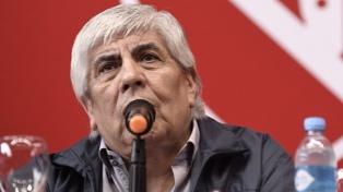 """Moyano advierte a Fernández y cuestiona a Meoni: """"Ponen a un funcionario que no conoce la actividad"""""""