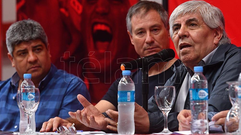 Hugo Moyano, el candidato del oficialismo, así lo confirmó Maldonado en diálogo con Radio Télam