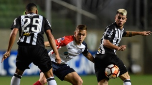 San Lorenzo igualó con Atlético Mineiro en Brasil y se clasificó