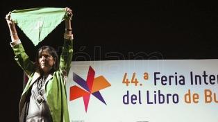 La agenda de género y el feminismo desembarcaron con fuerza en la Feria