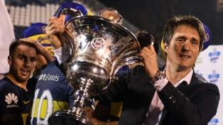 """Barros Schelotto: """"Al final fuimos justos ganadores"""""""