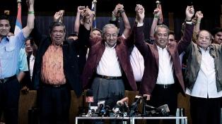 Inédito e histórico triunfo de la oposición en Malasia