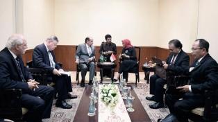 El Gobierno firmó con Indonesia tres acuerdos para potenciar el comercio