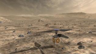 La NASA enviará un helicóptero autónomo en su próxima misión a Marte