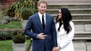 El casamiento del príncipe Harry y la actriz Meghan Markle costará mas de US$ 43 millones