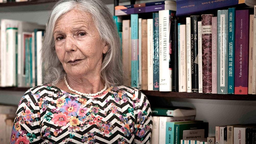 Beatriz Sarlo, una de los intelectuales que escribió sobre la situación.
