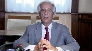 """Tabaré Vázquez dijo que tomará """"el tiempo necesario"""" para resolver el asilo de Alan García"""