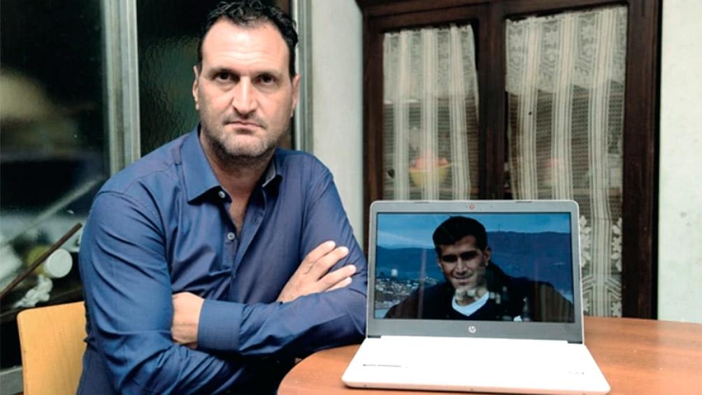 El abogado Luis Tagliapietra, padre de una de las víctimas del submarino ARA San Juan, el teniente de corbeta Alejandro Tagliapietra.