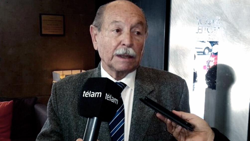 El titular de la Convención de la UCR, Jorge Sappia, fue uno de los firmantes del comunicado