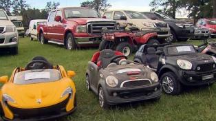 Detienen a una banda de estafadores y les secuestran casi $100 millones y más de 100 vehículos