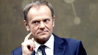 """La Unión Europea estaría entusiasmada si Escocia solicitara unirse"", dijo Tusk"