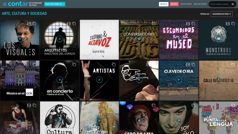 Cont.ar es una plataforma que transmite lo mejor de la producción fílmica argentina.