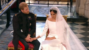 Más de 13 millones de espectadores siguieron por TV la boda real británica