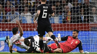 """Romero: """"Quiero volver al arco de la Selección, quiero ser campeón"""""""
