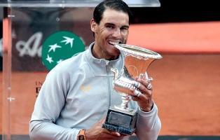 Nadal se consagró campeón en Roma y recuperó el número uno del ranking mundial