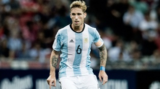 """No descarto volver al fútbol argentino"", aseguró Lucas Biglia"