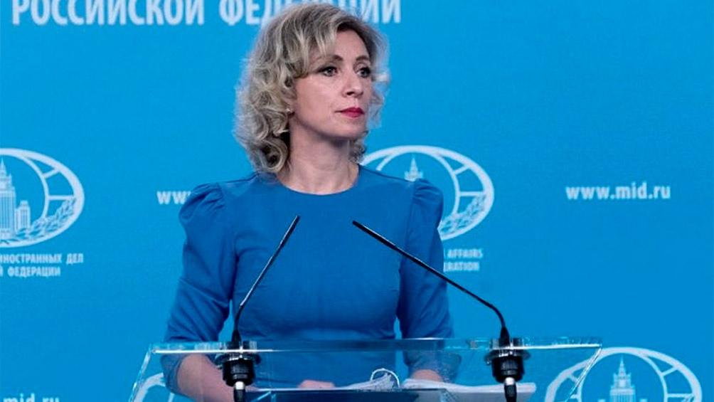 """Una vez más fue confirmado que Kiev no busca """"una solución por medios diplomáticos, pacíficos"""", aseguró María Zajárova"""