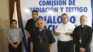 Sin Ortega, recomenzó el diálogo entre oposición y gobierno mediado por la Iglesia