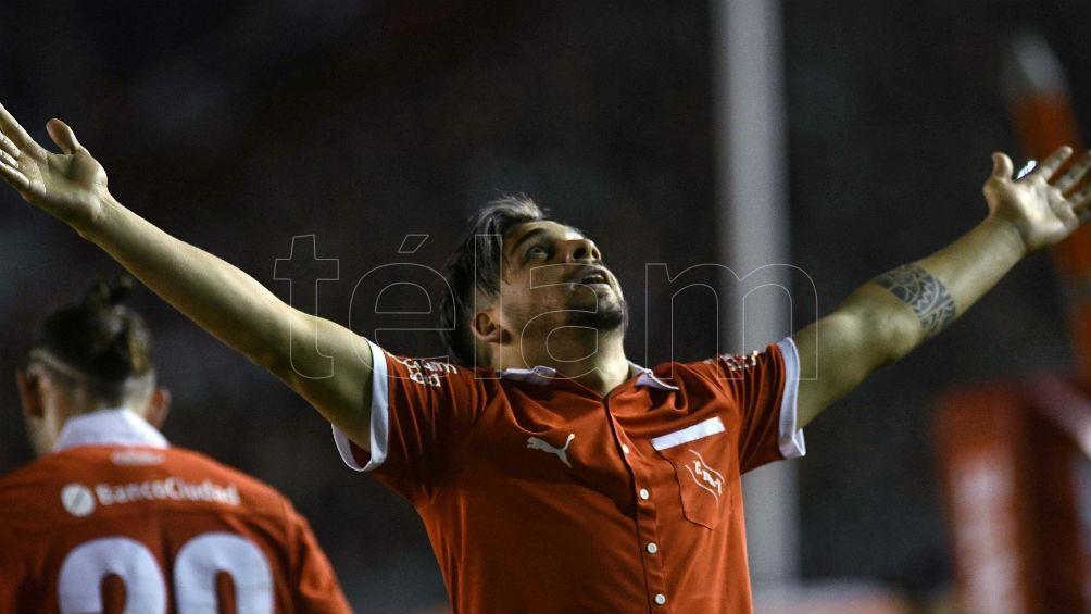 Benítez regresa a Brasil, tras jugar en Vasco Da Gama en el último Brasileirao (foto archivo)