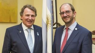 La Argentina acordó con el Reino Unido avanzar en comercio e inversiones
