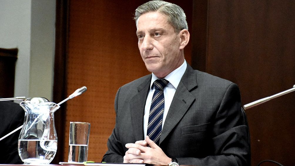 """""""El país necesita debatir seriamente el sistema judicial que tiene y es necesario construir"""", expresó Arcioni."""