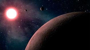 Descubrieron un súper planeta helado a seis años luz de la Tierra