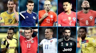 Las 10 figuras que se pierden la Copa del Mundo