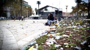 El gobierno porteño pedirá el reintegro de los arreglos en Plaza de Mayo