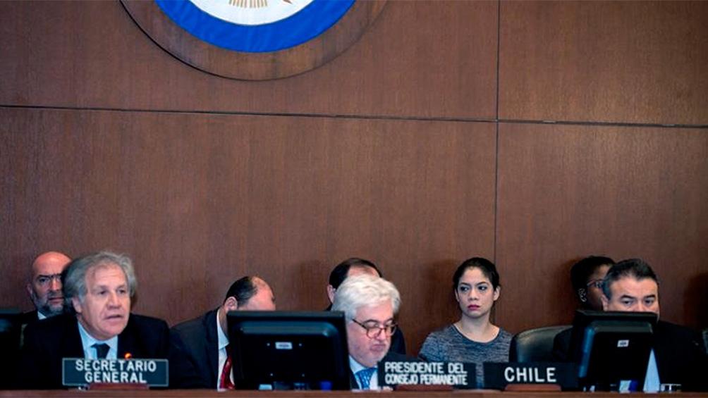 El Consejo Permanente de la OEA se reúne este miércoles a las 11 AM (hora Argentina)