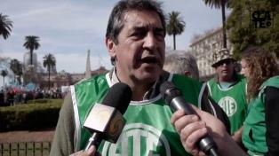 """Hugo """"Cachorro"""" Godoy fue reelegido en los comicios de ATE"""