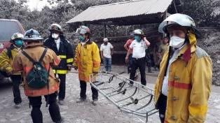 Ascendió a 109 el número de muertos por la erupción del volcán