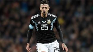 """Lanzini: """"Vamos Argentina, hoy más que nunca"""""""