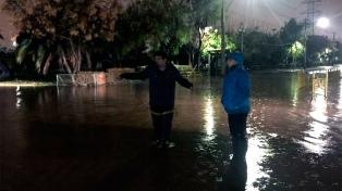 Suspenden clases en las comunas de la capital por el mal tiempo